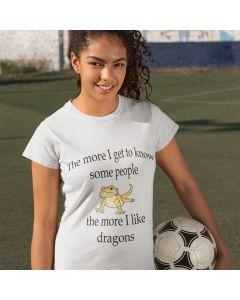 I Like Dragons Unisex Jersey Short Sleeve Tee