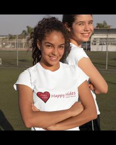 Happy Hides t-shirt
